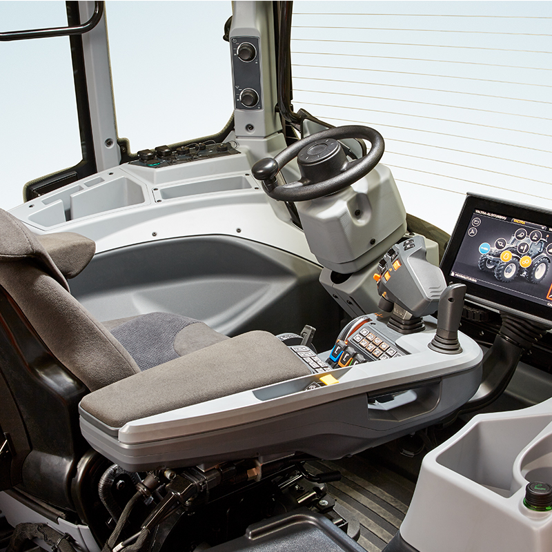 valtra tractor and twintrac cabin